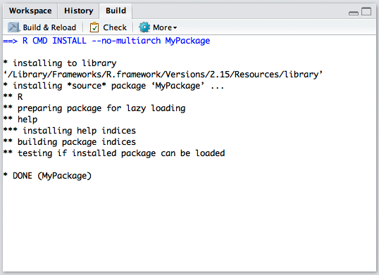 Building, Testing, and Distributing Packages – RStudio Support