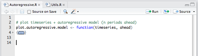 Code Folding and Sections – RStudio Support