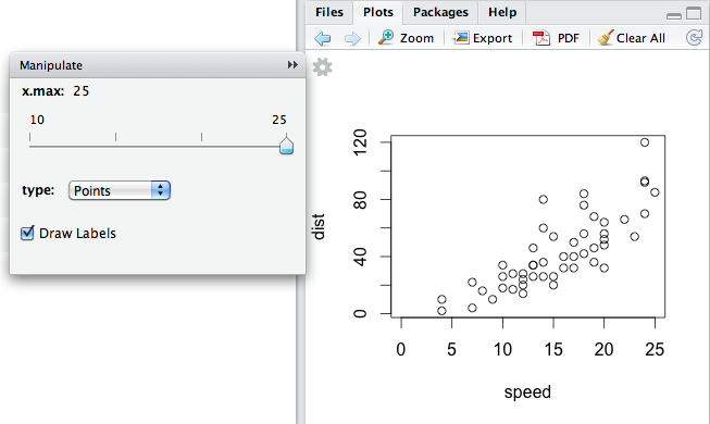 clear plot in r