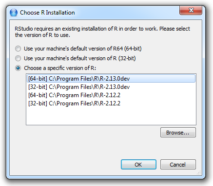 Changing R versions for RStudio desktop – RStudio Support