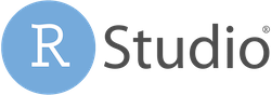 The RStudio logo